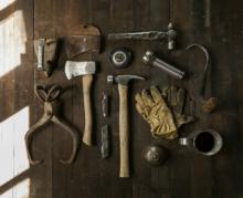 eines vintage herramientas antiguas